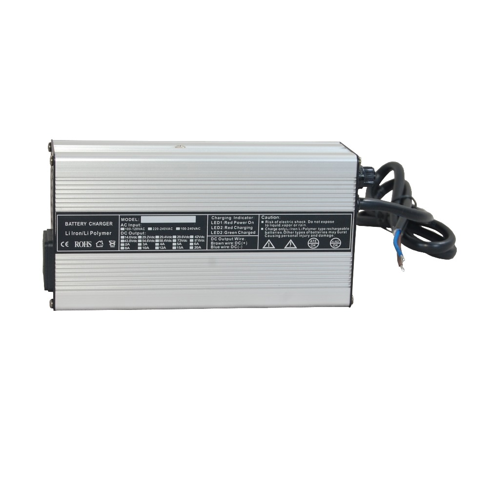 48v 5A Charger for Lifepo4 Battery Pack Electric Bike 220 Input 58.8v Output