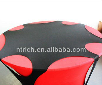 2013 New Style Spandex Table Clothes, Top Cover with Hole
