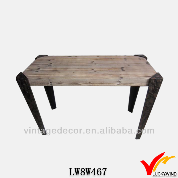 m tal pattes crate top qualit antique bois massif table basse table basse id de produit. Black Bedroom Furniture Sets. Home Design Ideas