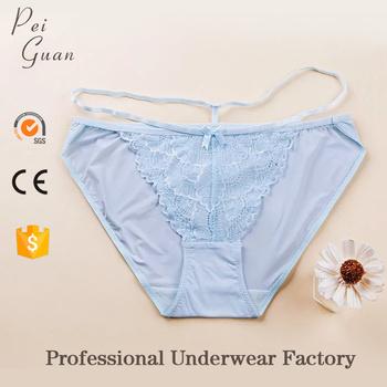 5470b73d8 wholesale best quality custom cotton panty lady ice silk sexy underwear  women lace plus size panties