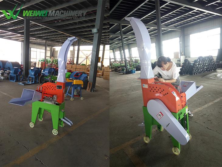 Weiwei agriculture chaff cutter trailer a cattle