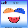 Portable Folding Travel Dog Pet Food Water Bowl made in China