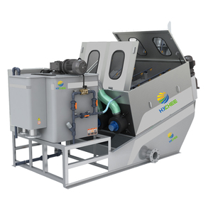 Hassle-Free Maintenance Wastewater Dehydrating Equipment For Food Processing Industry