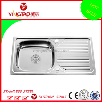 sri lanka single bowl sink with drainboard factory directly drop on kitchen sinkstainless - Kitchen Sinks For Sale