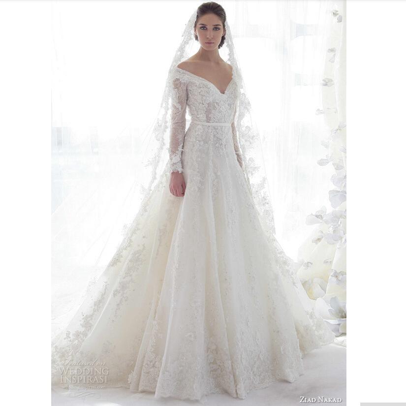 Princess Off The Shoulder Wedding Dresses
