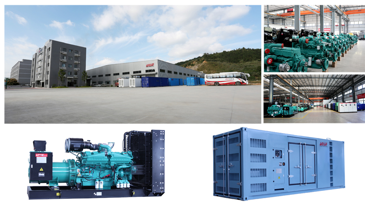 AOSIF Powered price of 1000kva diesel generator	with cummins engine 1000 kva silent type diesel generator set