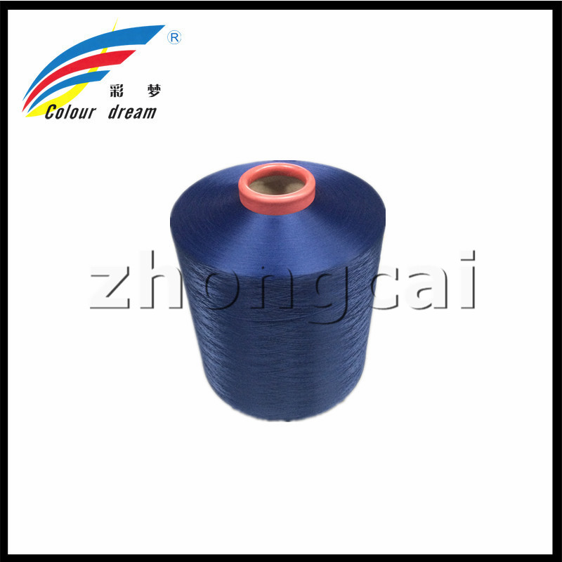 100D/36F polyester dope geverfd DTY