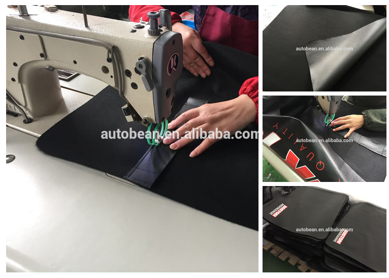 Ultra Soft Car Fender Covers: Factory Selling 80*60cm Pvc With Soft Backing Fender Cover