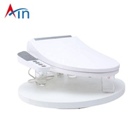 Public automatic cleaning hygienic smart bidet toilet seat cover set