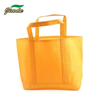Factory promotion sale reusable non woven tote bag for supermarket