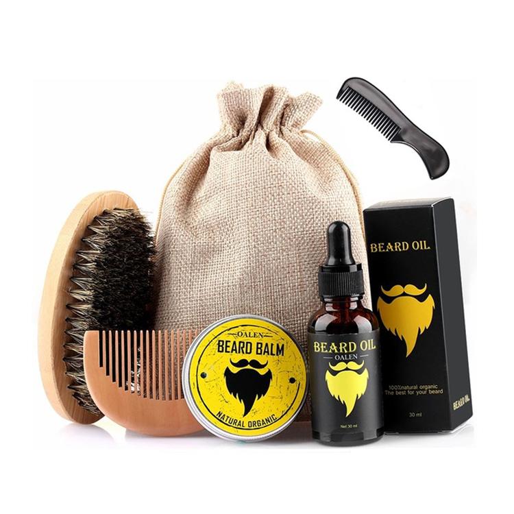 MOQ100 Private Label Beard Care Gift Set Beard Grooming Kit