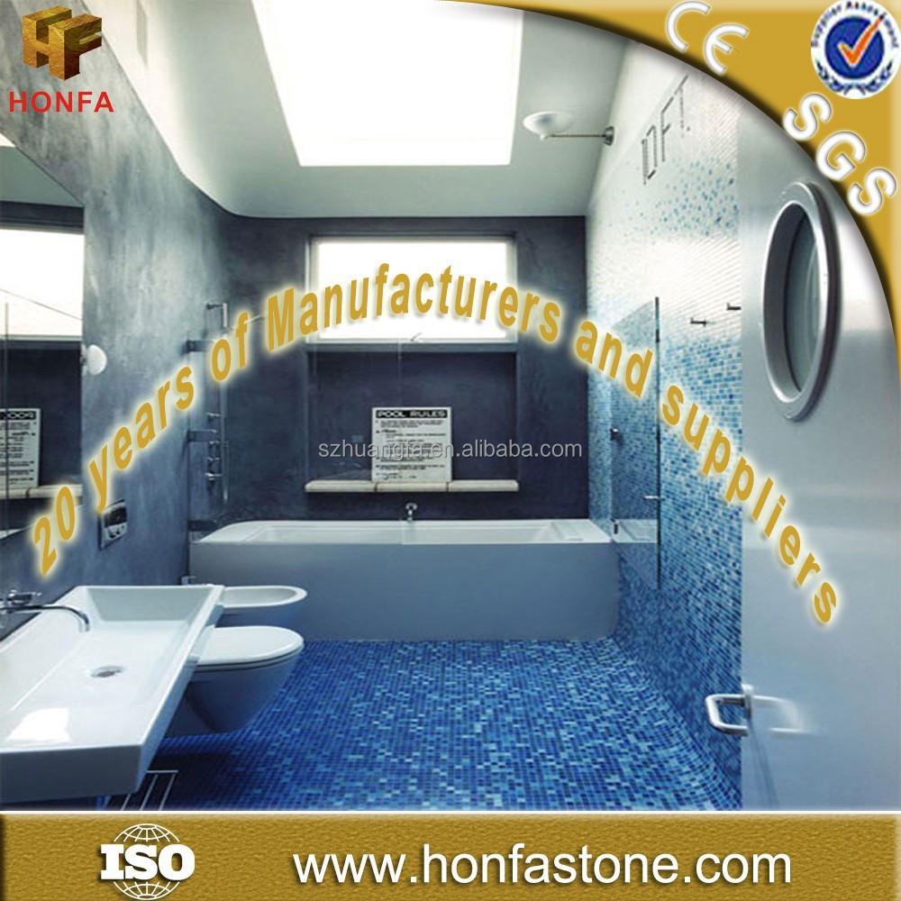 Fabriek grijs blauw badkamer vloertegels met 20 % korting tegels ...