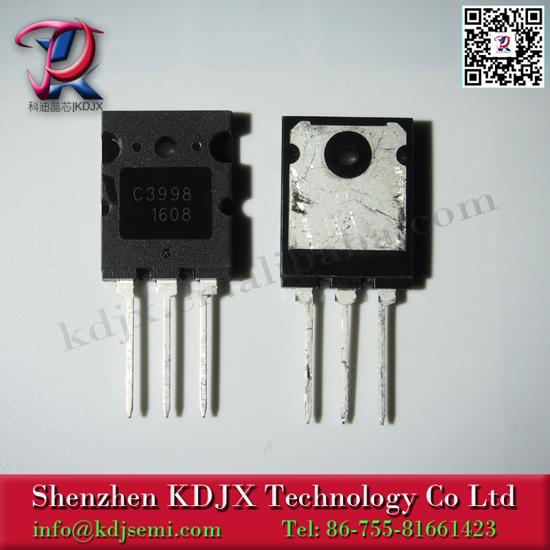 Other Semiconductors & Actives 2SC-3998 TRANSISTOR TO-3PL C3998