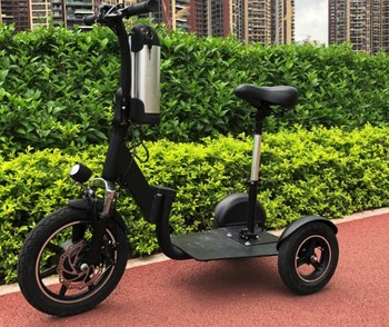Senior Long Distance Big Tire Bounce Reducing Electric Power Mobility - Buy  Fat Tire Dual 3 Wheel Scooter,Elite Electric Scooter,Tourism Airport Beach