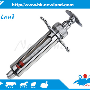 2018 NL201 High quality stainless steel metal livestock poultry syringe