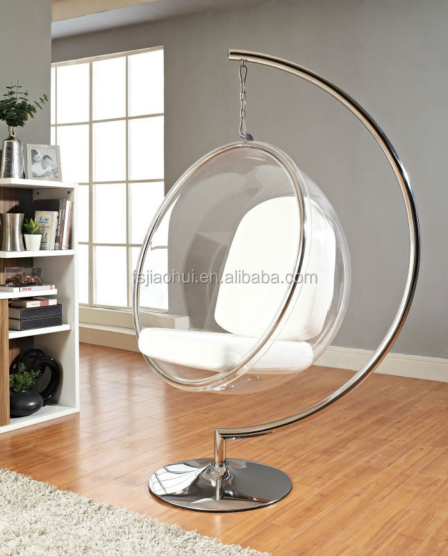 clear Acrylic Hanging design ball chair