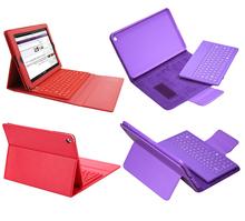 Free Shipping 1 PCS/Lots Smart PU Leather Stand Wireless Bluetooth Keyboard Case For Ipad 2/3/4