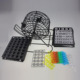 Deluxe Wire Metal Cage Bingo Game Set 75 Balls Machine Rotary 18 Cards 150 Markers!