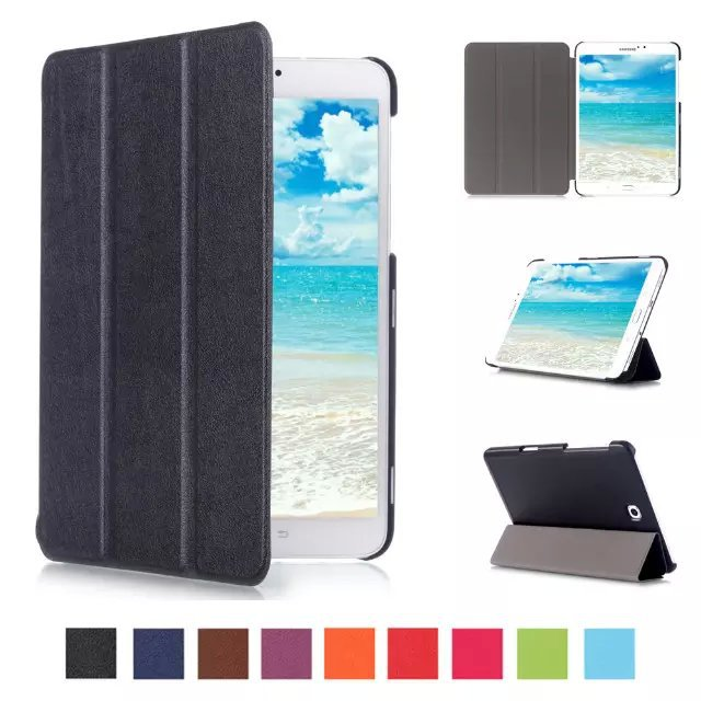 2015 case for samsung galaxy tab s2 8 0 8 39 39 tablet folio cover for samsung tab s2 8 0 t710 t715. Black Bedroom Furniture Sets. Home Design Ideas