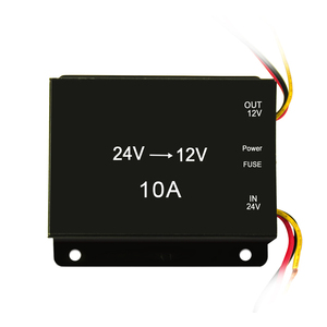 Single Waterproof isolated Step Down DC-DC Power Converter 24v 12V to 12v 5v 6V 5A 20a 30a