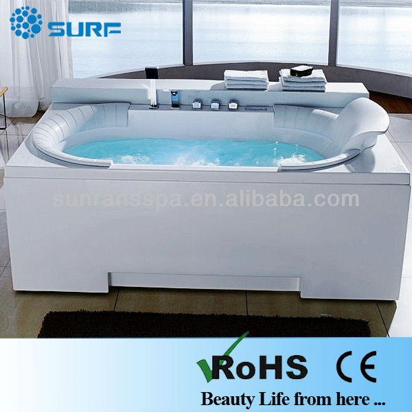 high quality 2 person jetted sitting bathtub (SF9C5025)