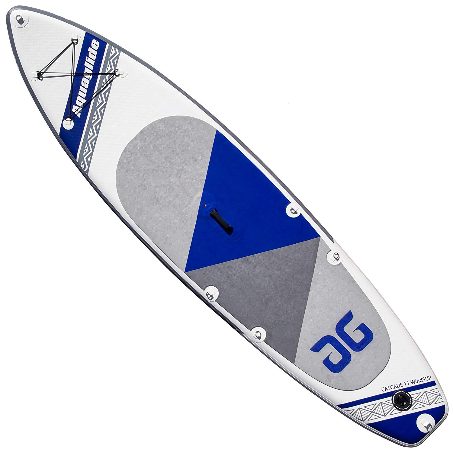 Get quotations · aquaglide cascade 11 inflatable windsurfer board with 4 2 rig