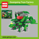 Wholesale 3 IN 1 connecting building brick toy dinosaurs educational banbao blocks