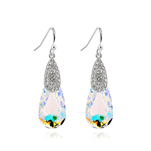10749 Engagement Costume Jewelry Manufacturer Thailand Latest Design Diamond Earring