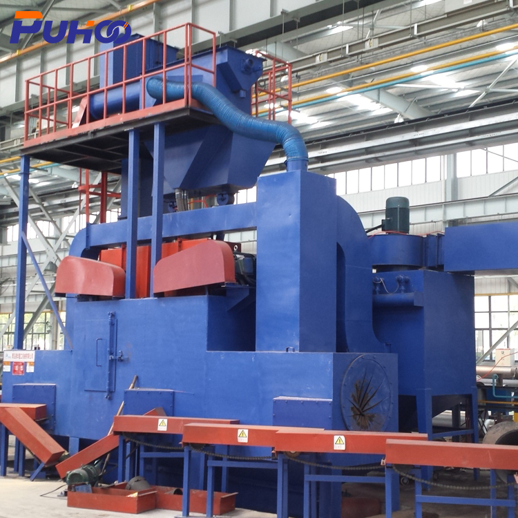 CE Quality customized design shot blasting machine/bed blasting aluminum price