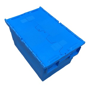 Nestable and Stackable Plastic Crate