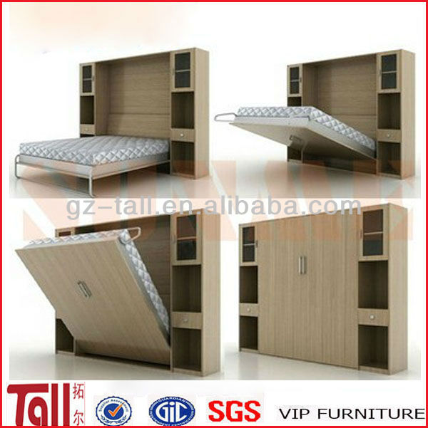 hidden bed furniture. High Quality Modern Bedroom Furniture Hidden Bed Buy BedModern BedMurphy Product On Alibabacom W