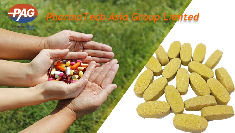 OEM Package Halal Food Supplement Multivitamin And Mineral Tablet