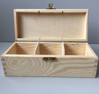 New item Custom wood box tea box