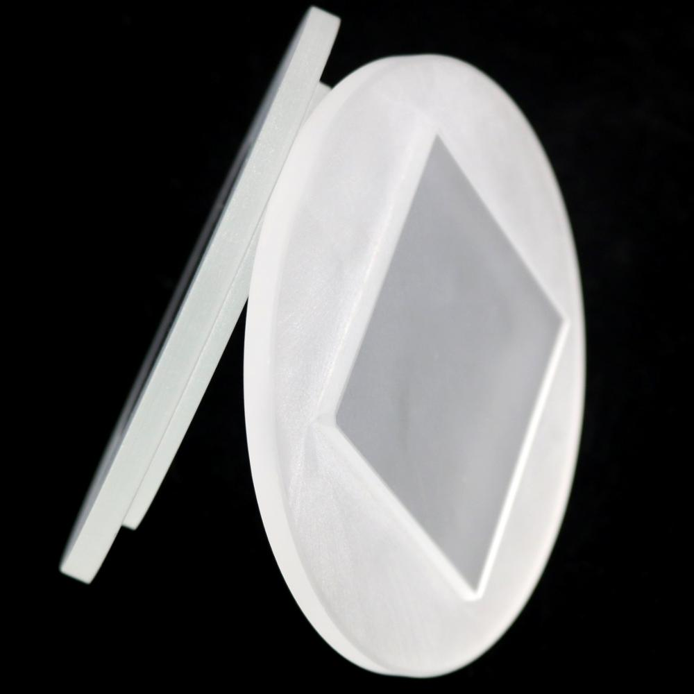 8mm square extra white tempered step lighting flat glass sheet