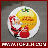 heat tranfer image multi ceramic ornament with full printing for sale