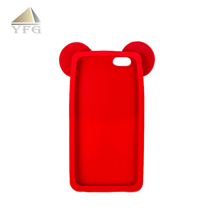 Safety 3D logo universal case cover for 4.7 inch cell phone