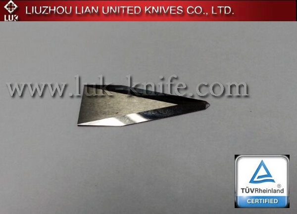 Tungsten carbide Zund cutter blade for leather textile industry