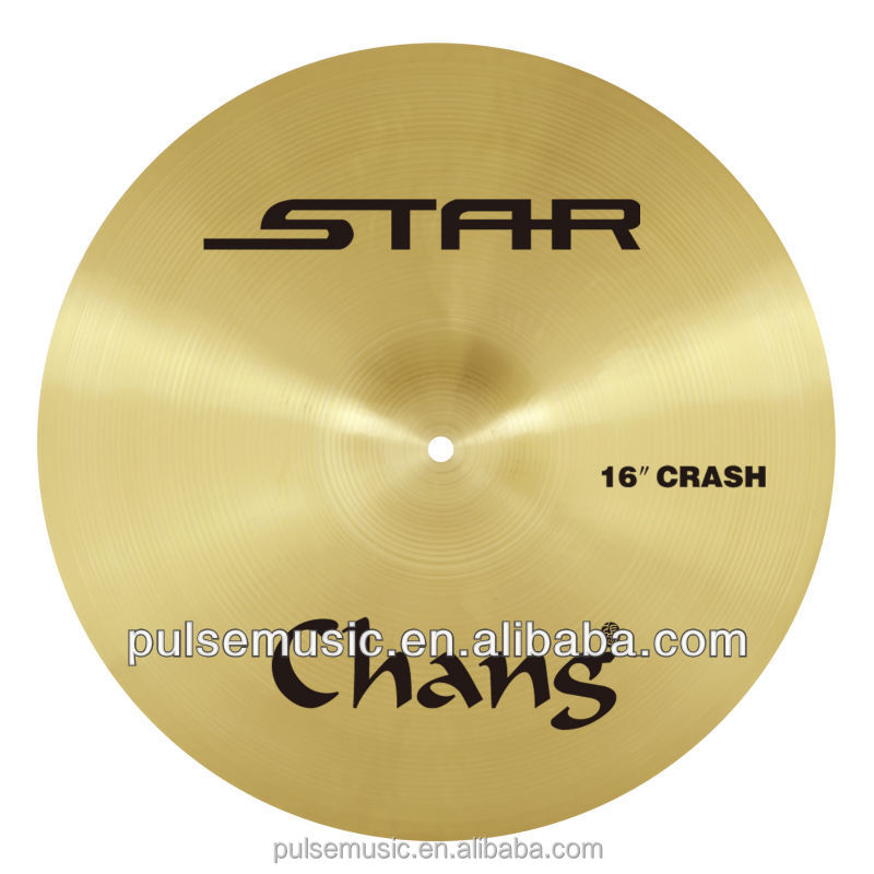 Popular Chinese STAR Crash Cymbal For Jazz Drum Cymbal