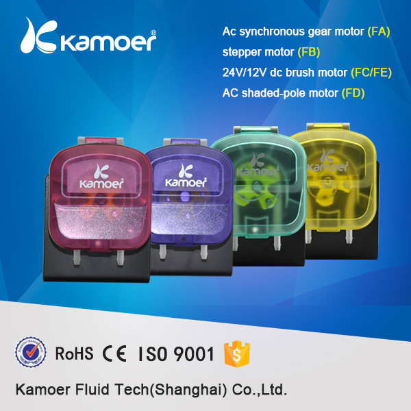 Kamoer KDS peristaltic DC24V laundry,washing pump with attractive appearance and optional colors