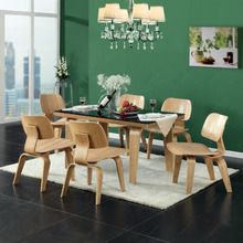 JH-F009 Chalres and Ray LCW chair, plywood wooden chair for dining room furniture