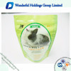 Snack for Rabbit Packaging Bags, Pet Food Pouches Ziplock Bag