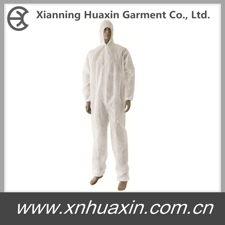 certified disposable coverall
