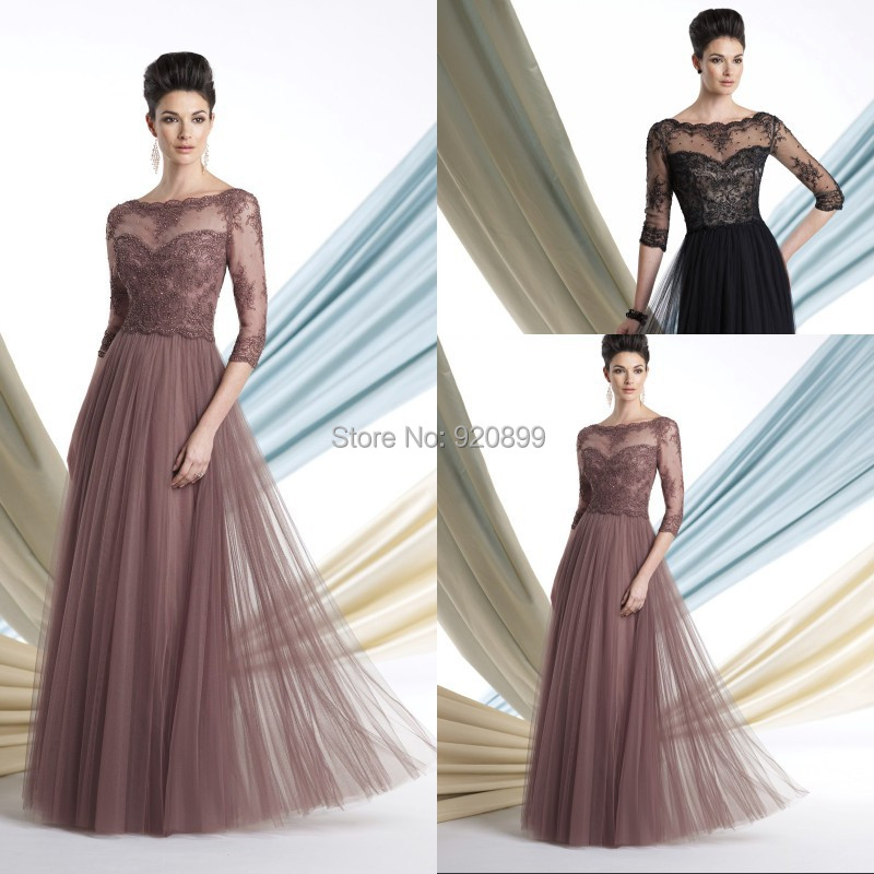 Stunning Mother Of The Bride Dresses: Aliexpress.com : Buy Hot Beautiful Evening Tulle Beaded