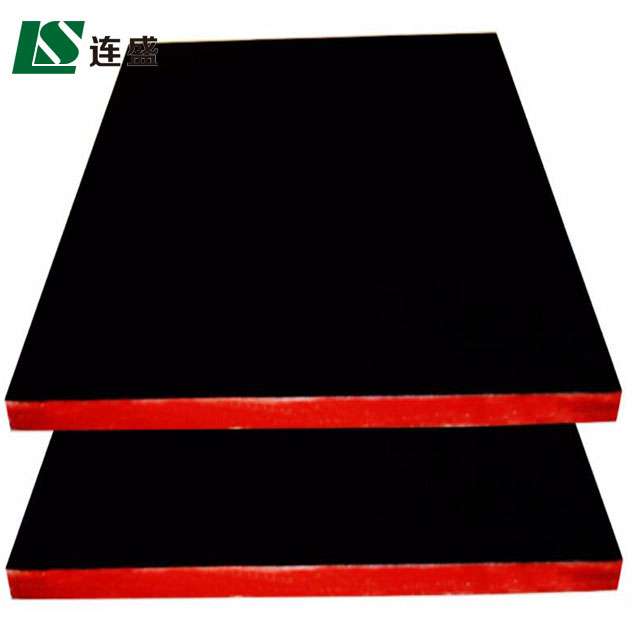 Lianshengwood plywood board bent plywood furniture used concrete molds for walls