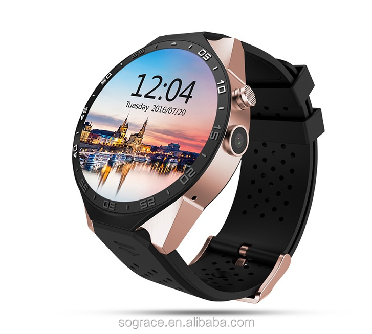 3G Android 5.1 WiFi GPS Bluetooth 4.0 KW88 Smart watch