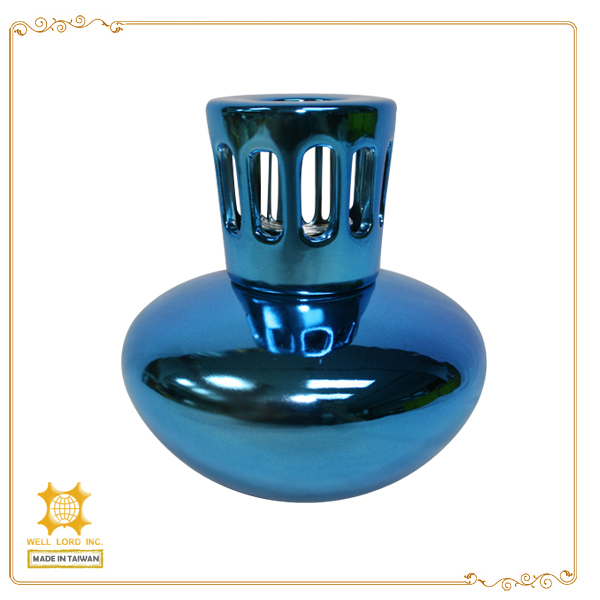 Classic luxury home decoration european style glass empty oil burner bottle