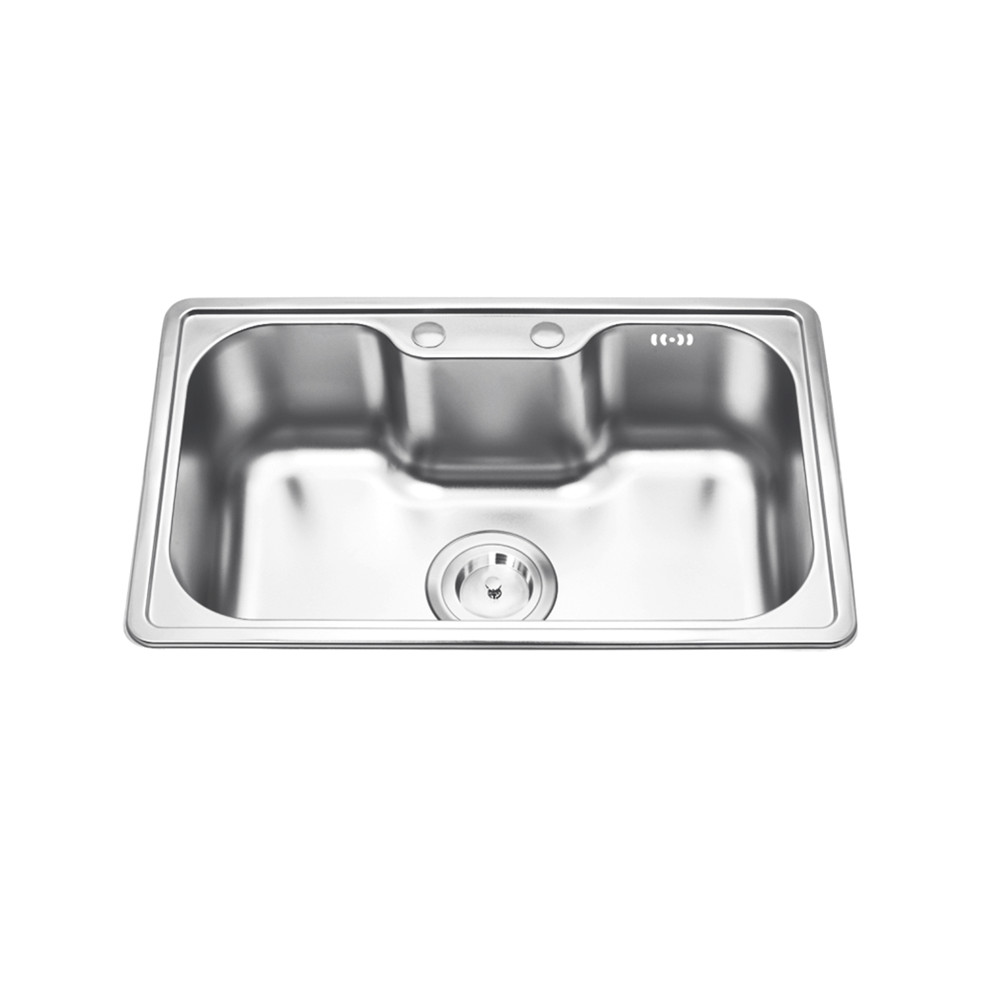 Hot sale single bowl stainless steel kitchen sink for hotel