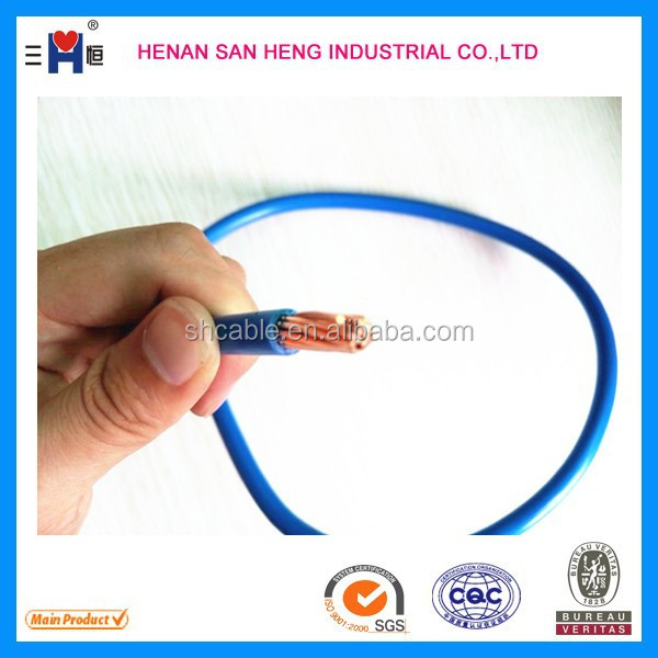 AWG 2/0 H07V-U electric wire