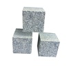 Padang Dark G654 Granite Paver Tile Cobble Stone For Driveway