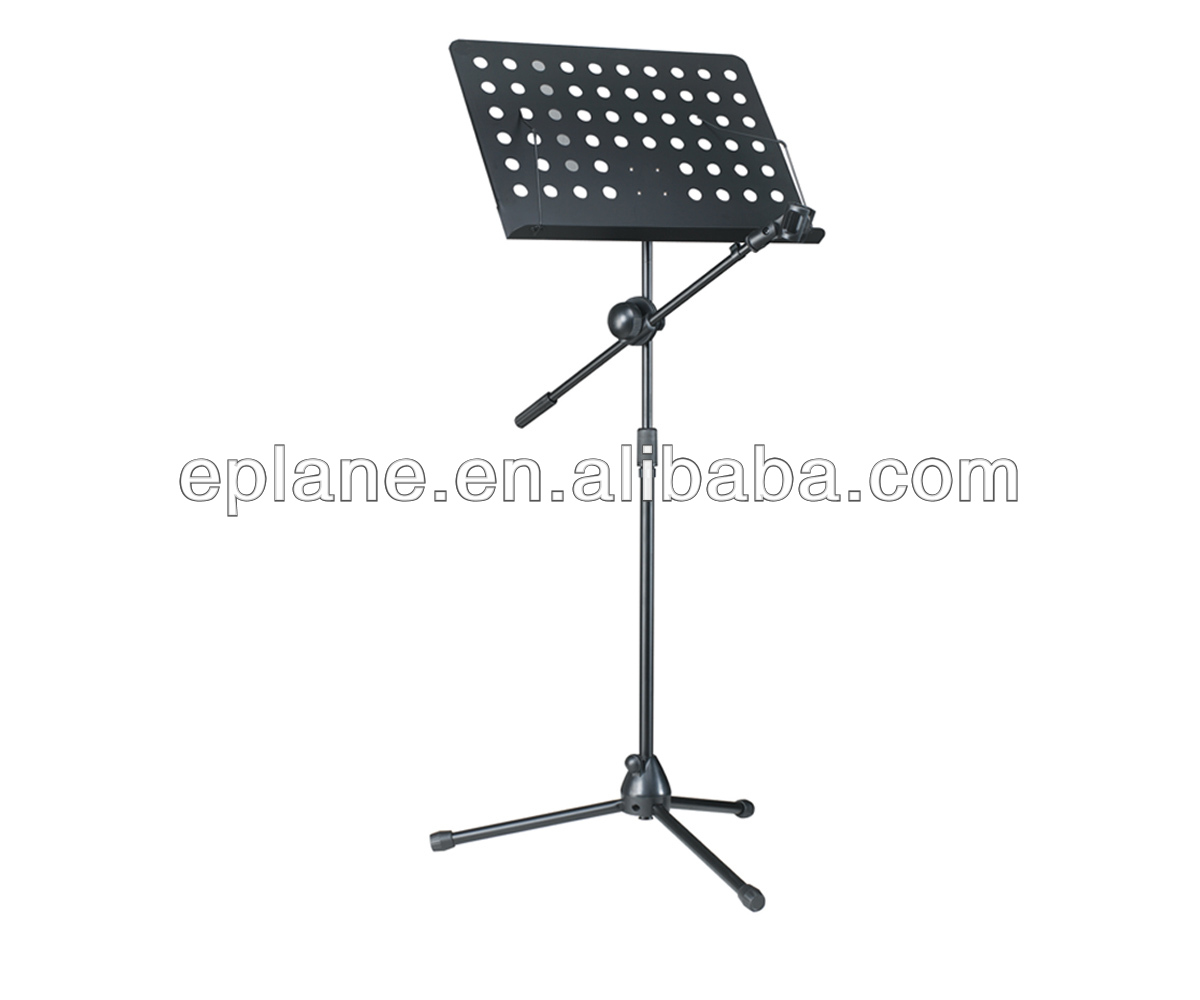 Lane tripod microphone stand MS-02 Collapsible Orchestra music stand with microphone